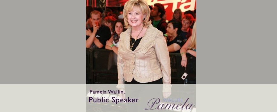 Pamela Wallin Public Speaking